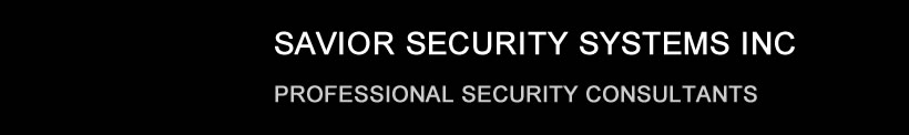 Savior Security Systems Home Page